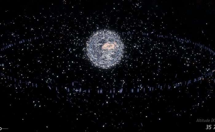 Eye opening numbers on space debris