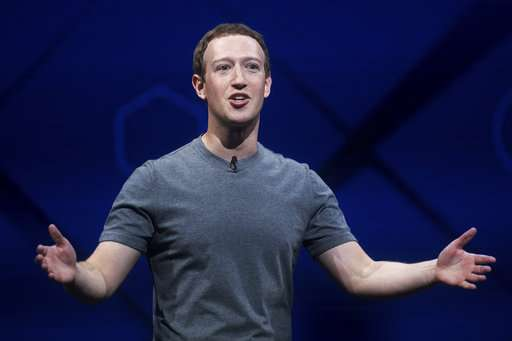 Facebook CEO dinner hosts say he's not running for president