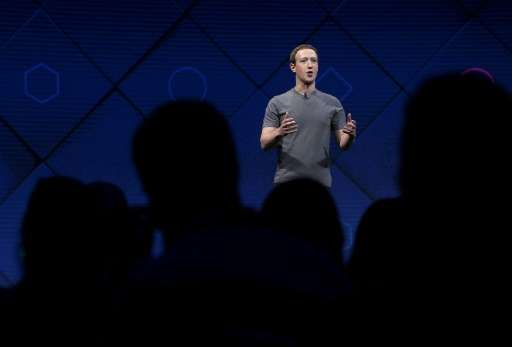 """Facebook CEO Mark Zuckerberg says the social network has a """"lot of work"""" to do in the fight against the spread of gris"""