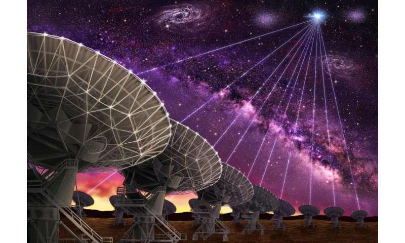 Fast radio burst tied to distant dwarf galaxy, and perhaps magnetar
