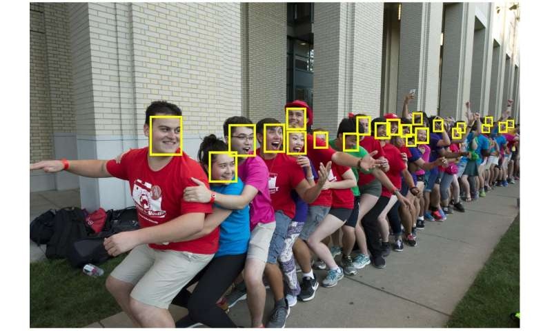 Finding faces in a crowd: Context is key when looking for small things in images