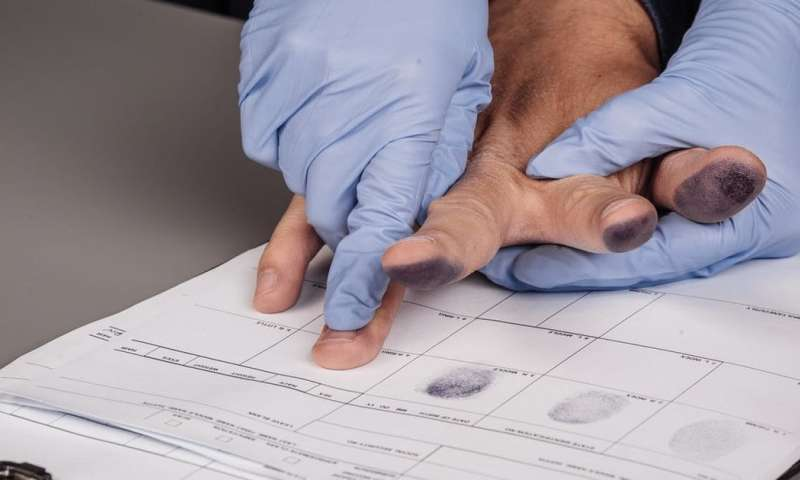 Fingerprinting to solve crimes is not as robust as you think