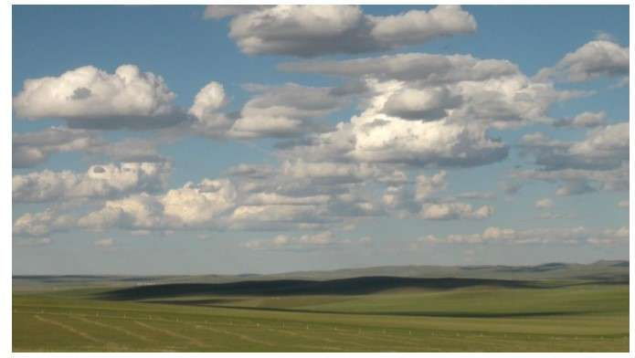 First intensive measurements of shallow cumulus clouds over the Inner Mongolia Grasslan