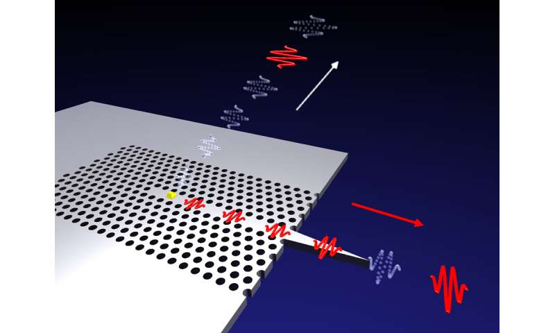 First step towards photonic quantum network