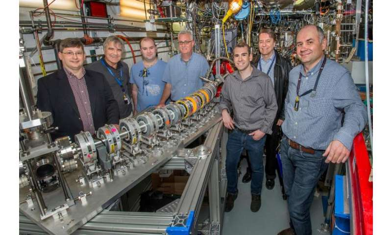 """""""Fixed-field"""" accelerator transports multiple particle beams at a wide range of energies through a single beam pipe"""