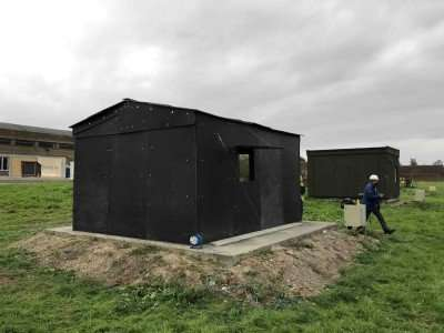'Flat pack' recyclable emergency shelters to help hurricane victims