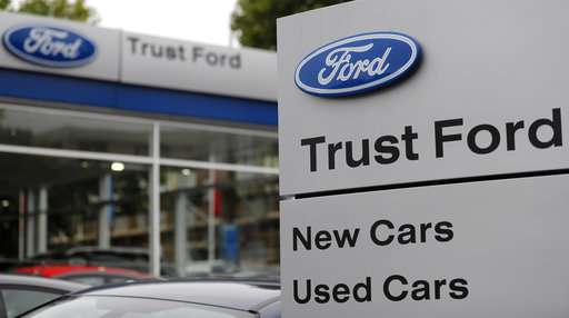 Ford's net income jumps in 3Q on truck sales