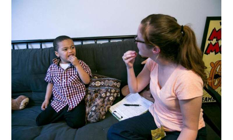 For kids with autism, imitation is key on road to speech