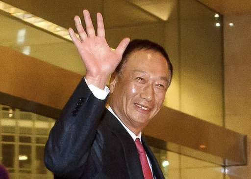 Foxconn founder: US expansion might top $10 billion