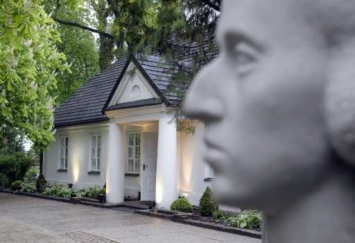 Frederic Chopin was born at this house in Zelazowa Wola near Warsaw in 1810, and later moved to France
