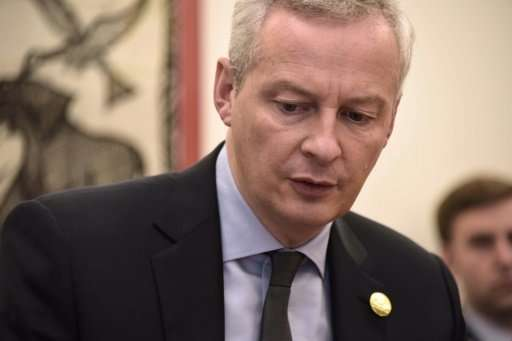 "French Finance Minister Bruno Le Maire said the US understands ""the need for the fair taxation of digital giants"""