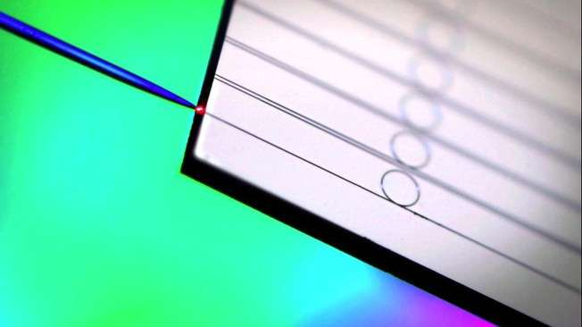 Frequency combs—on-chip integration on track