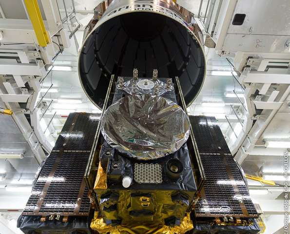 Galileo satellites atop rocket for next Tuesday's flight
