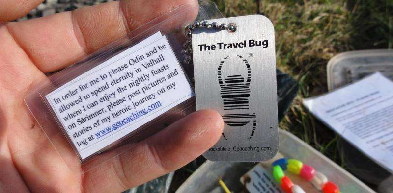 Geocaching shows there are other ways to create value online