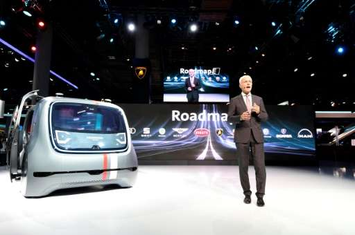 German titans Volkswagen, BMW and Daimler all announced far-reaching electric vehicle programmes in the run-up to the IAA