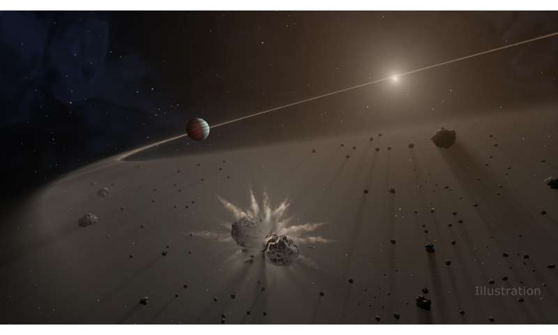 Giant exoplanet hunters: Look for debris disks