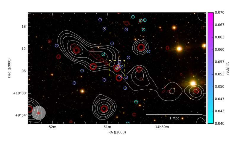 Giant radio galaxy discovered by astronomers