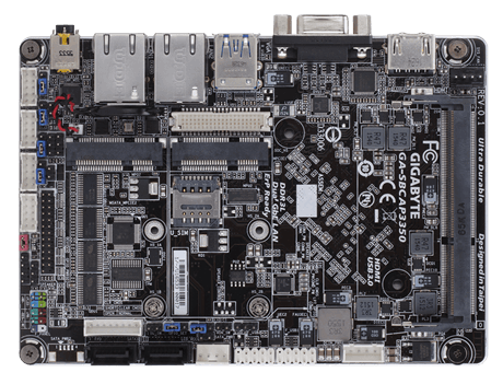Gigabyte shows fanless single-board computer details