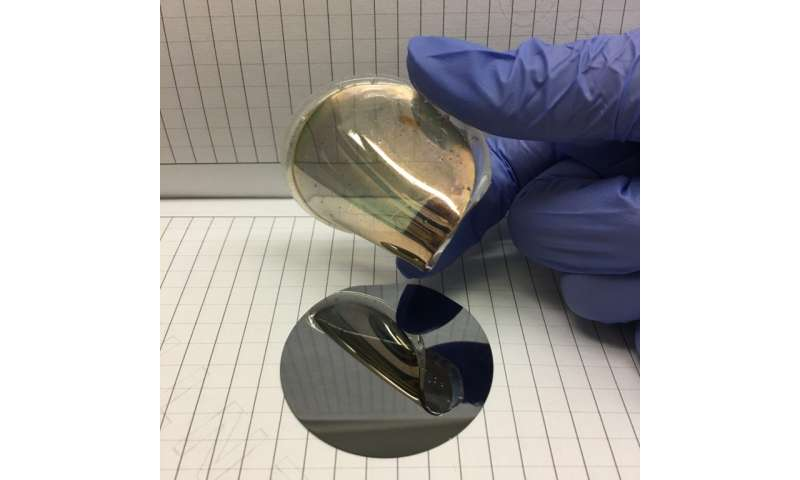 Gold foil discovery could lead to wearable technology