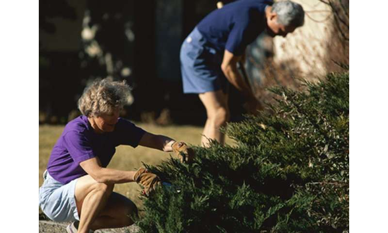 Golfing and gardening your way to fitness