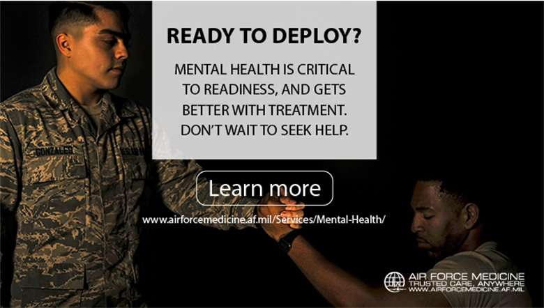 Good mental health critical to military readiness