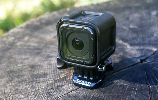 GoPro surges on camera-friendly outlook