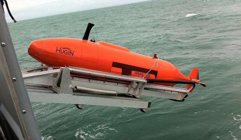 Great opportunities for marine research with new underwater vehicle
