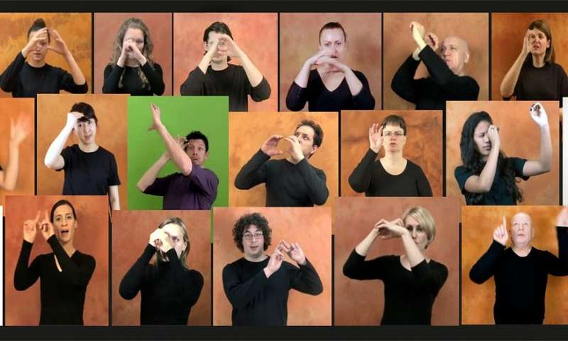 Hands in the stars: The first international comparative list of astronomical words in sign languages