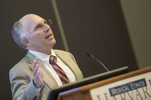 Harvard bioethicist shares hope, concerns on gene-editing