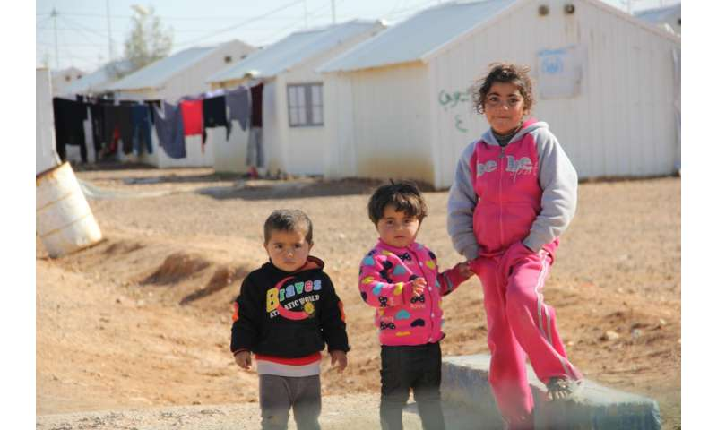 Healthy housing for refugees in extreme climates