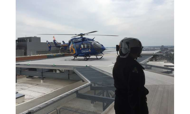 Helistroke service: Flying the physician to the stroke patient works