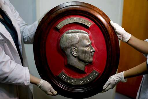 Pièce cachée d'artefacts nazis suspectés trouvés en Argentine