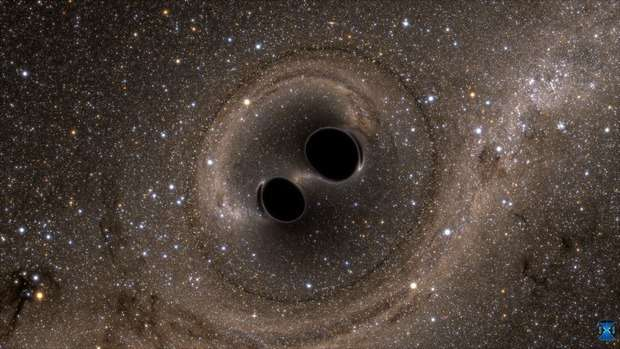Hints of extra dimensions in gravitational waves?