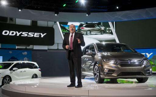 Honda unveils new Odyssey in small, scrappy minivan market