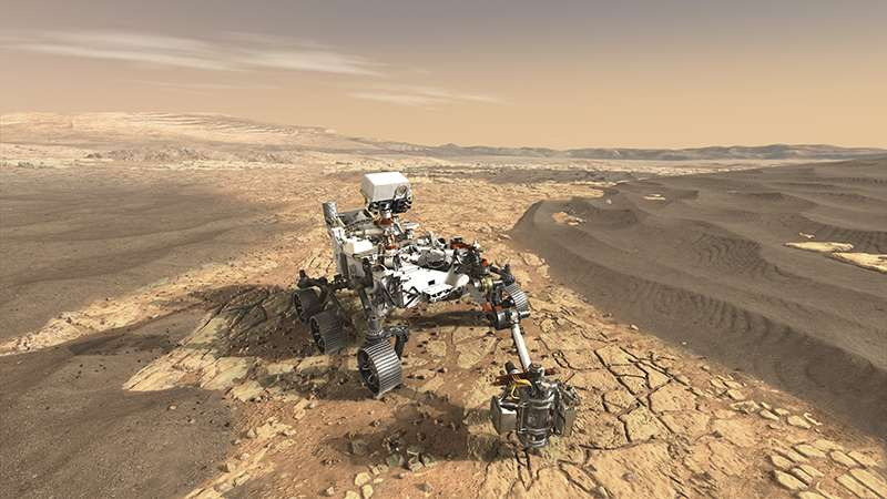 Hope to discover sure signs of life on mars new research says look hope to discover sure signs of life on mars new research says look for the element vanadium urtaz Images