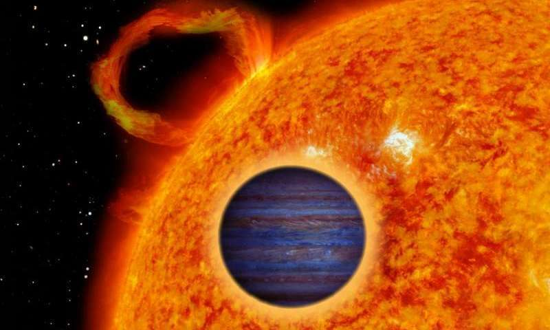 """""""Hot Jupiter"""" detected around nearby variable star"""