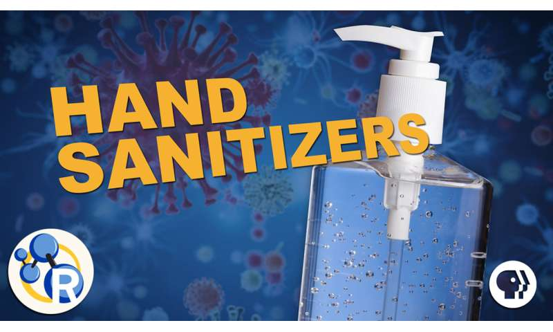 How hand sanitizers work (video)