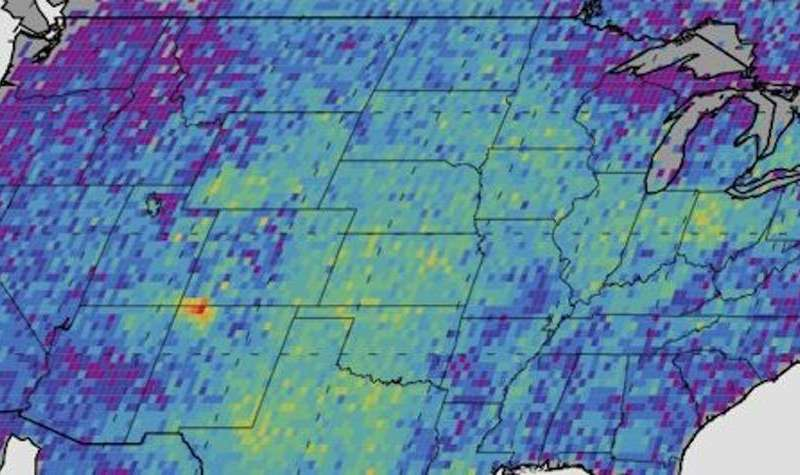 How has air quality been affected by the US fracking boom?
