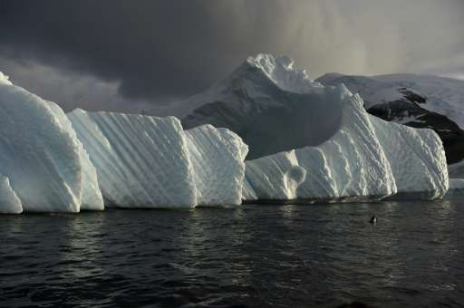 Huge ice blocks breaking off the Antarctic shelf could release vast amounts of water, significantly raising ocean levels