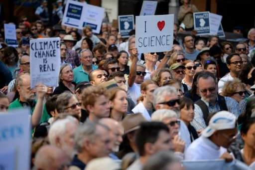 "Hundreds of marches are planned globally triggered by concern over the rise of ""alternative facts"" on science."