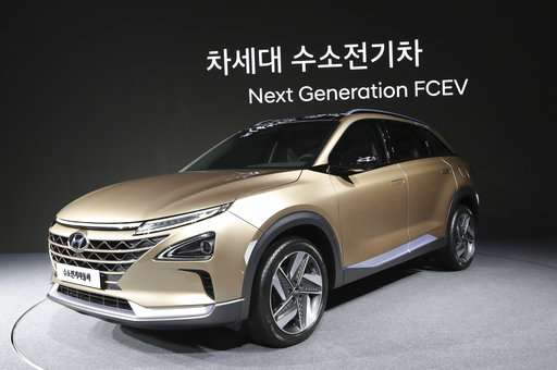 cdf09c7db2a7 Hyundai unveils new fuel cell SUV with longer travel range