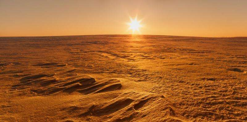 Ice mined on Mars could provide water for humans exploring space