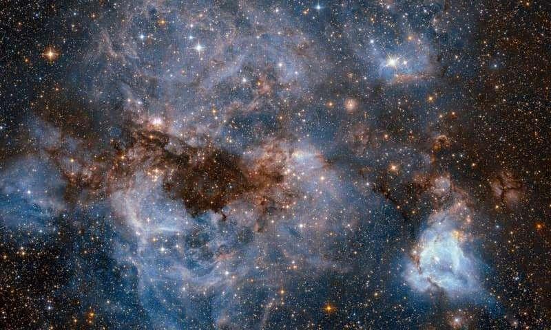 Image: A stormy stellar nursery