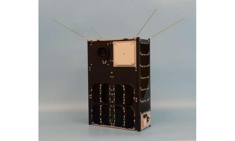 Image: Desktop CubeSat test