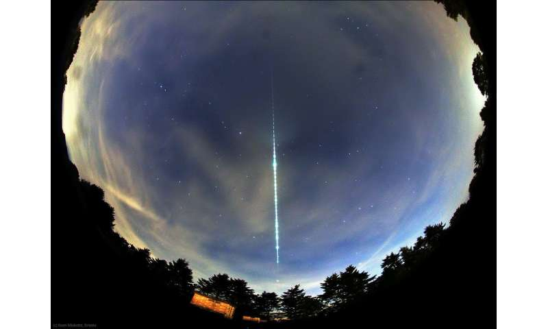 Image: Fireball over the Netherlands and Belgium