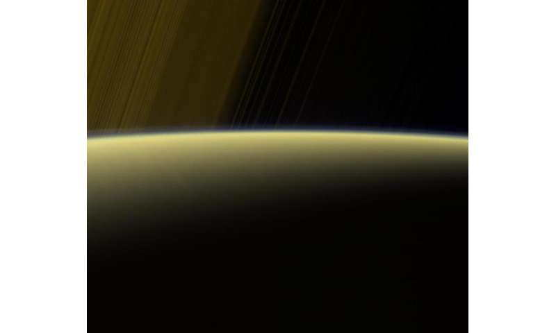 Image: Haze on the Saturn horizon