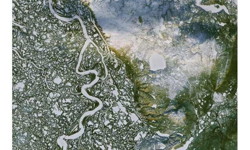 Image: Mackenzie River in Canada's Northwest Territories
