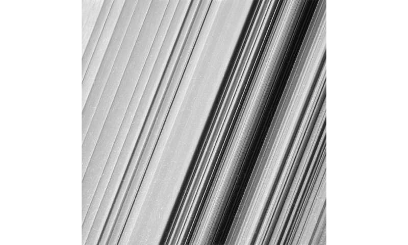 Image: Saturn's B-ring close-up