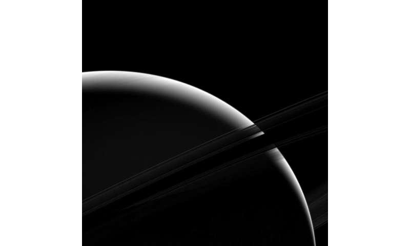 Image: Sliver of Saturn