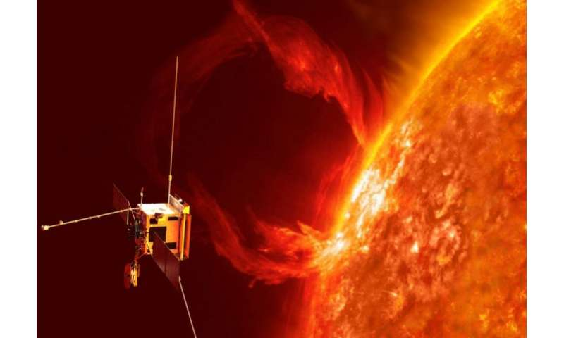 Imperial instrument ready to study the sun